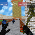 Advanced Blocky Combat SWAT Mod Apk 1.50