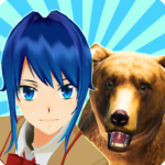 Animal School Simulator. girls and animal life Mod Apk 9.400