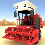 Blocky Farm Racing & Simulator – free driving game Mod Apk 1.36