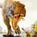 Dinosaur War – BattleGrounds Mod Apk