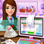 High School Cash Register: Cashier Games For Girls Mod Apk 2.0.6
