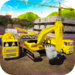 House Building Simulator: try construction trucks! Mod Apk 1.3.1