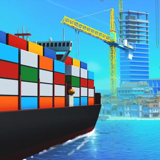 Sea Port: Build Town & Ship Cargo in Strategy Sim Mod Apk 1.0.169