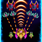 Space attack – infinity air force shooting Mod Apk 2.1