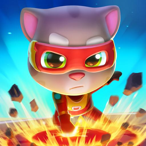Talking Tom Hero Dash – Run Game Mod Apk 2.4.1.1397