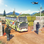 US Army Bus Driving Mod Apk