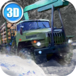 Winter Timber Truck Simulator Mod Apk 1.40