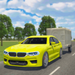 Car Driving Sim : Trailer Transport Mod Apk 1.1
