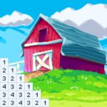 Color by Number for Adults: Landscape Pixel Art Mod Apk 1.46