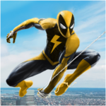 Flying Spider Rope Hero – Super Vice Town Crime Mod Apk 1.0.23
