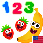 Funny Food 123! Kids Number Games for Toddlers Mod Apk 2.5.0.12