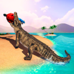 Hungry Crocodile Attack Simulator: Crocodile Games Mod Apk 1.0