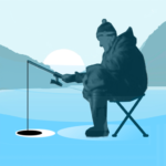 Ice fishing games for free. Fisherman simulator. Mod Apk 1.48