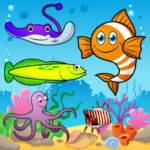 Puzzle for Toddlers Sea Fishes Mod Apk 1.0.6