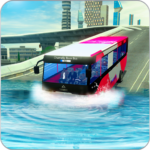 River bus driving tourist bus simulator 2018 Mod Apk 3.4.3