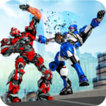 Robot Fight Street Brawl Real Robot Fighting Games Mod Apk 3.0.3