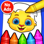 Coloring Games: Coloring Book, Painting, Glow Draw Mod Apk 1.0.5