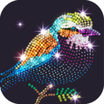 Diamond Coloring – Sequins Art & Paint by Numbers Mod Apk 1.4.3