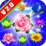 Flowers Sweet Connect – Match 3 Game Mod Apk 1.4.72