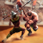 Gladiator Heroes Clash: Fighting and strategy game Mod Apk 3.4.0