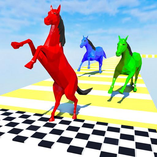 Horse Run Fun Race 3D Games Mod Apk 2.5