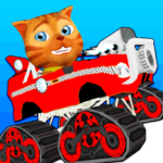 Cat Race Car Snow Drift Stunts Mod Apk 4