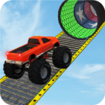 Monster Truck Stunt Race : Impossible Track Games Mod Apk 1.14