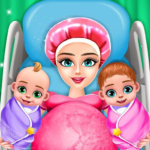 Pregnant Mom And Twin Baby Care Nursery Game Mod Apk 0.2