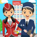 Pretend Play Hotel Cleaning: Doll House Fun Mod Apk 1.1.1