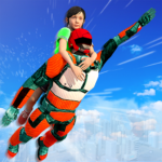 US Light Robot  Speed Hero :City Rescue Mission Mod Apk 1.0.17