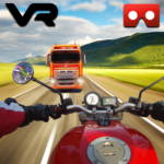 VR Bike real world racing – VR Highway moto racing Mod Apk 1