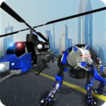Air Force Transform Robot Cop Wolf Helicopter Game Mod Apk 1.3.2
