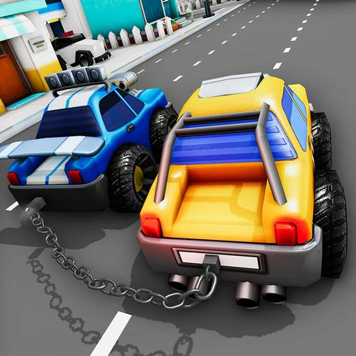 Chained Cars Impossible Stunts 3D – Car Games 2020 Mod Apk 2.9.1