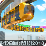 Elevated Train Driving Simulator: Sky Tram Driver Mod Apk 1.6
