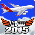 Flight Simulator 2015 Flywings – Paris and France Mod Apk 2.1.3