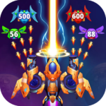 Galaxy Raid: Space shooter Mod Apk 7.1.3