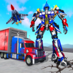 Indian Police Robot Transform Truck Mod Apk 1.9