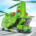 US Army Transporter Plane – Car Transporter Games Mod Apk 1.0.14