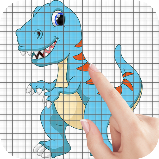 Cartoon Dinosaurs Color by Number – Pixel Art Game Mod Apk 1.1