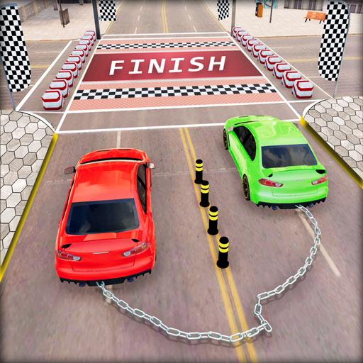 Chained Car Racing 2020: Chained Cars Stunts Games Mod Apk 1.4
