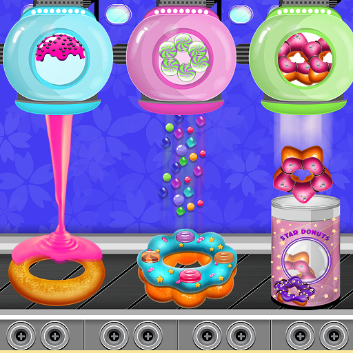 Donuts Cooking Factory: Baking Dessert in Kitchen Mod Apk 1.0.6