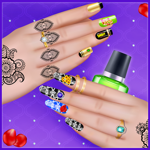 Girly Nail Art Salon: Manicure Games For Girls Mod Apk 1.0.2