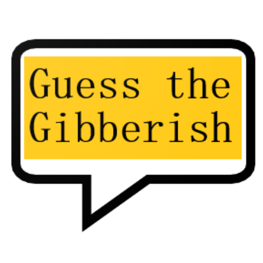 Guess the gibberish game – word games / challenge Mod Apk 1.12
