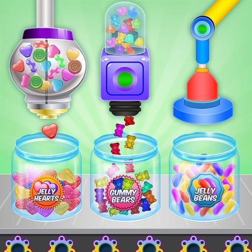 Jelly Candy Factory: Gumball & Lollipop Maker Chef Mod Apk 1.4