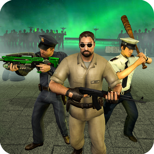 NY Police Zombie Defense 3D New Tower Defense Game Mod Apk 1.2
