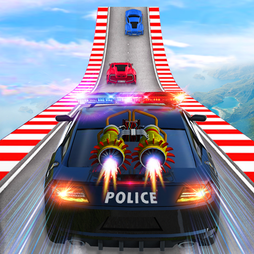 Police Car Chase GT Racing Stunt: Ramp Car Games Mod Apk 3.0.2