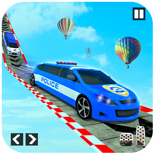 Police Limo Car Stunts – Mega Ramp Car Racing Game Mod Apk 3
