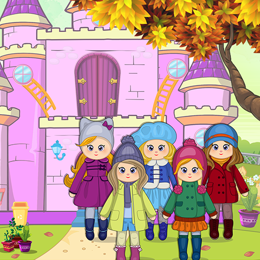 Pretend Play Doll House: Town Family Mansion Fun Mod Apk 1.0.8