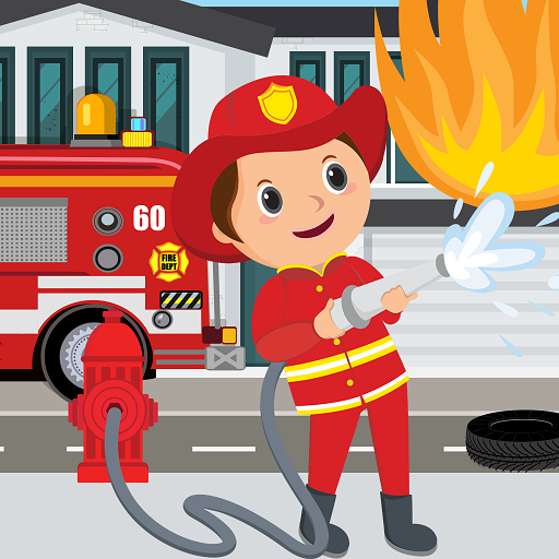 Pretend Play Fire Station: Town Firefighter Story Mod Apk 1.0.2