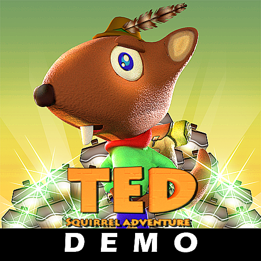 TED squirrel adventure DEMO Mod Apk 2.4